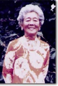 Photo of Mrs. Hawayo Takata
